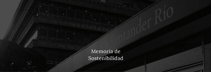 Santander Río presentó su Memoria de Sostenibilidad 2015
