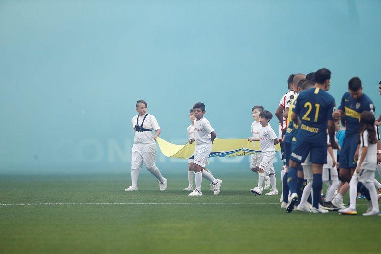 Chicos de la Cooperativa La Juanita cumplieron su sueño en la primera final de la Libertadores