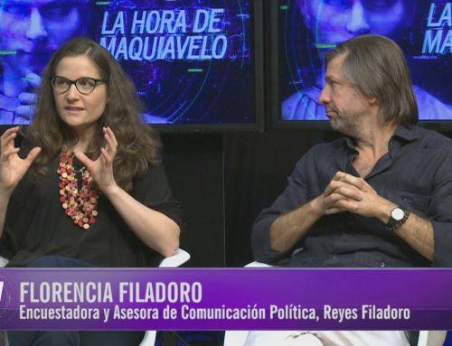 Carrera de relatos de salida (de Macri) y entrada (de Fernández)